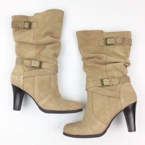 Kelly & Katie Christy Leather Heeled Boots 8